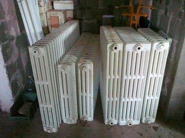 Esistono radiatori in ghisa di tutti i tipi e dimensioni