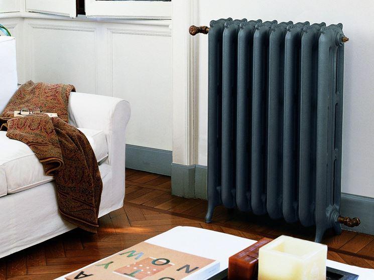 Attenzione all'arredamento vicino ai radiatori in ghisa