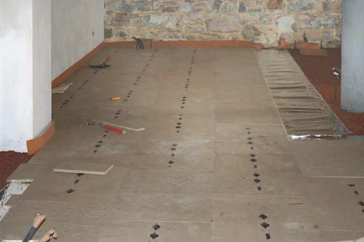 Riscaldamento a pavimento con posa a secco riscaldamento casa
