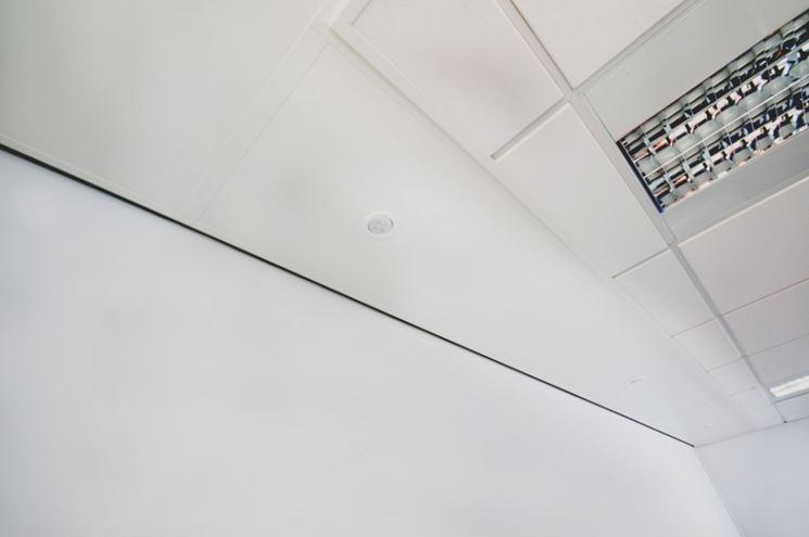 pannello radiante a soffitto