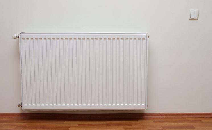 Esempio di moderno termosifone