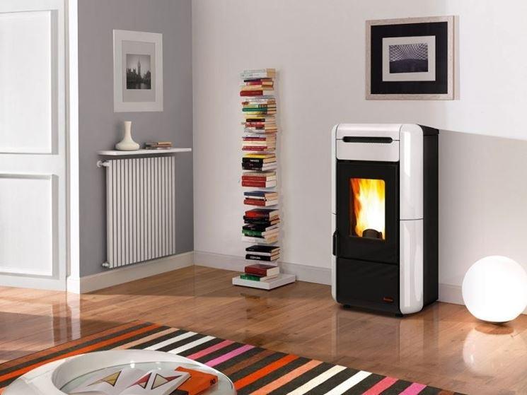 Stufe e caloriferi ultrapiatti riscaldamento casa - Stufe a pellet con termosifoni ...