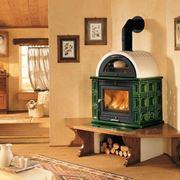 Stufe a legna con forno