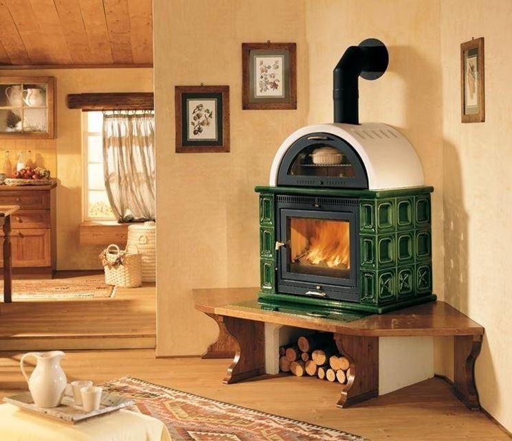 Stufe a legna con forno stufe - Stufe a legna immagini ...