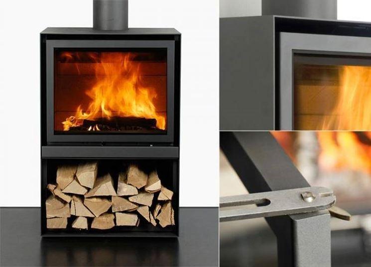 termostufa a legna con forno