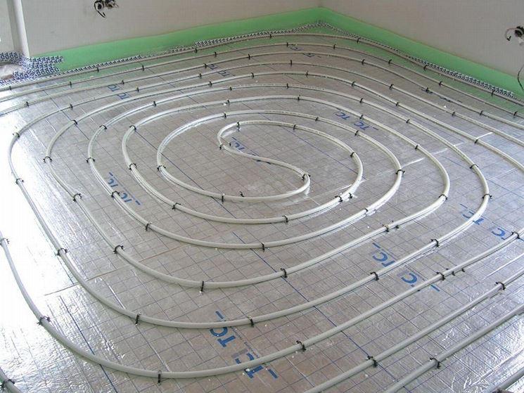 tubi multistrato per riscaldamento a pavimento