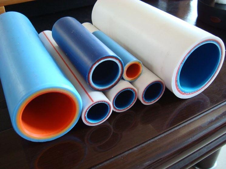 esempi di tubi multistrato