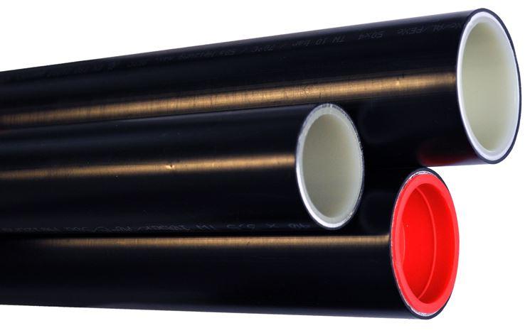 Sezione di un tubo a 3 strati