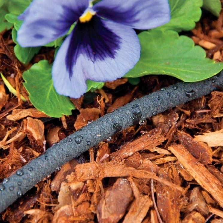 tubo irrigazione poroso