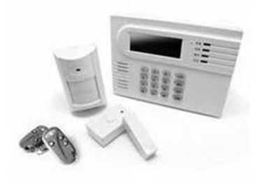 Il kit di montaggio dell'allarme casa fai da te