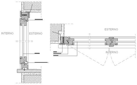 Finestre in legno dwg finestra for Porte interne dwg