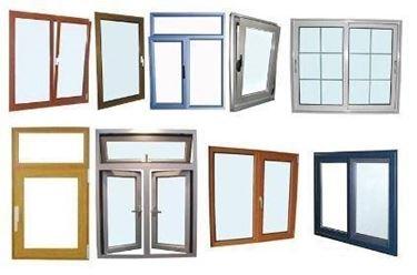 montare una porta-finestra in alluminio