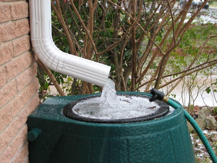Estremamente Contenitori acqua piovana - Grondaie - Cosa sono i contenitori per  WO96