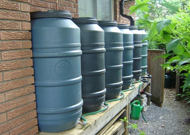 Popolare Raccolta acqua piovana - Grondaie - Sistema raccogliere acqua BT76