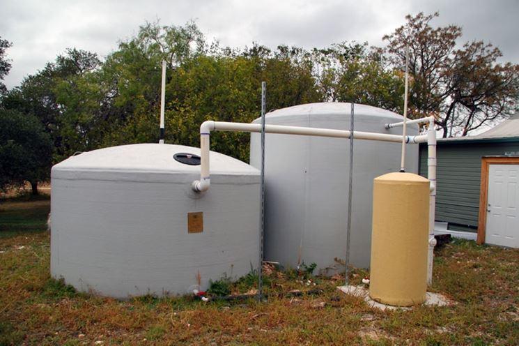 Cisterne raccolta acqua