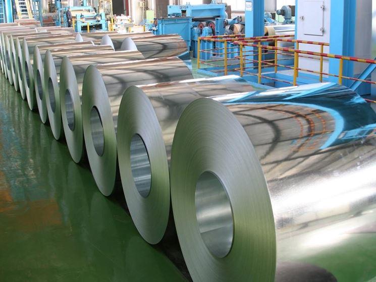 rotoli di acciaio zincato