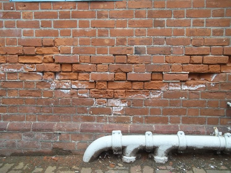 danni da umidità di risalita