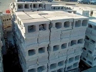 blocchi di calcestruzzo