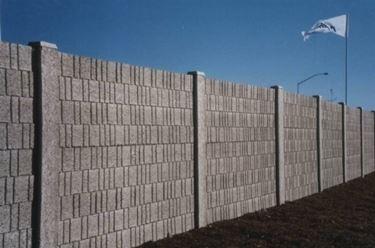 muro in calcestruzzo
