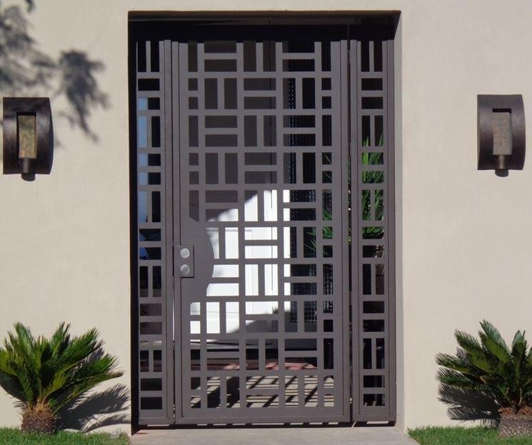 cancello per ingresso pedonale