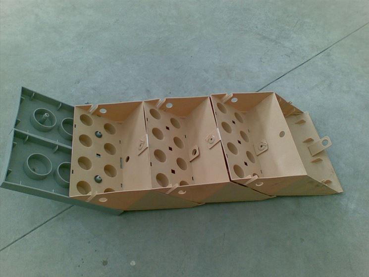 mattone polimerico per edilizia