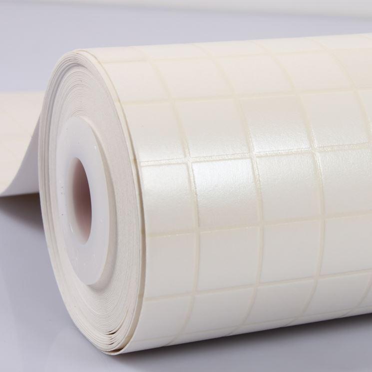 Mattonelle adesive materiali per edilizia tipologie di for Mattonelle finte per cucina