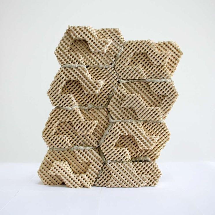 mattoni in ceramica stampati
