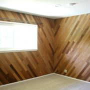 perline in legno per parete