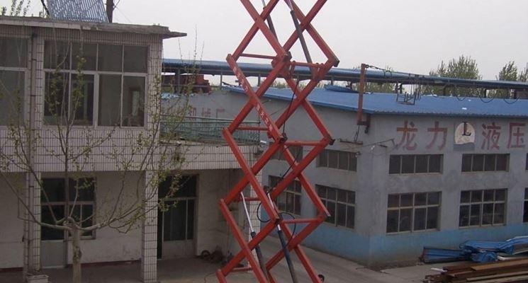 Piattaforma elevatrice