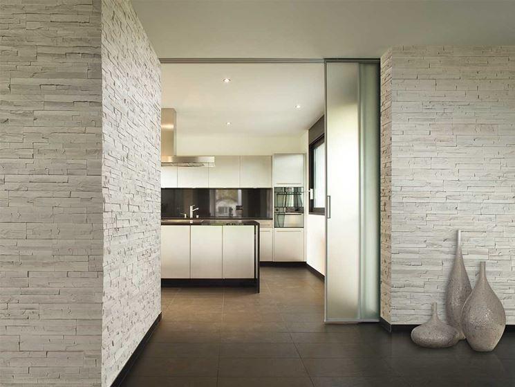 Pietre rivestimento materiali per edilizia for Ambienti interni moderni