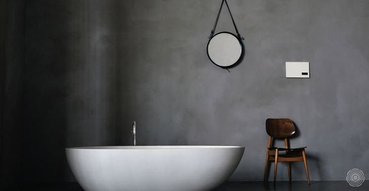 Resine per pareti materiali per edilizia rivestimento - Decorazioni pareti bagno ...