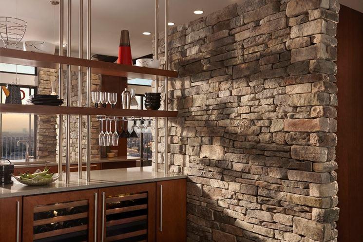 Rivestimenti interni in pietra - Materiali per Edilizia - come realizzare rivestimenti interni ...