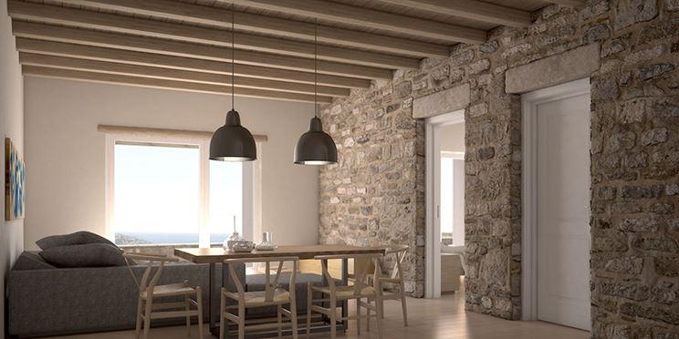 Rivestimenti interni in pietra materiali per edilizia - Piastrelle effetto roccia ...