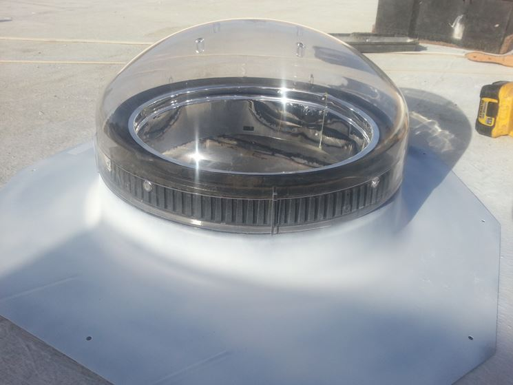 copertura tunnel solare