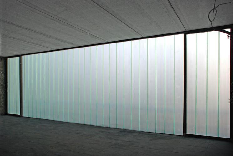 Usi del profilato di vetro