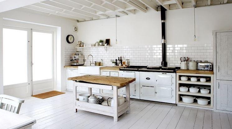 parete cucina piastrellata