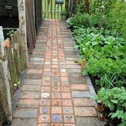Mattonelle per giardini
