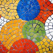 Tessere da mosaico fai da te colorate