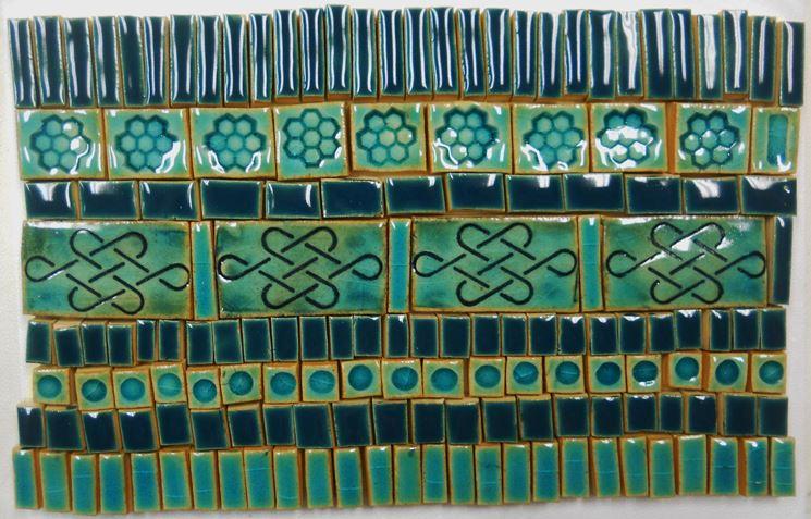 Esempio di impiego di tessere da mosaico fai da te