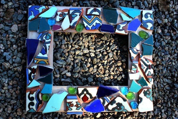 Esempio di realizzazione di mosaico con tessere fai da te