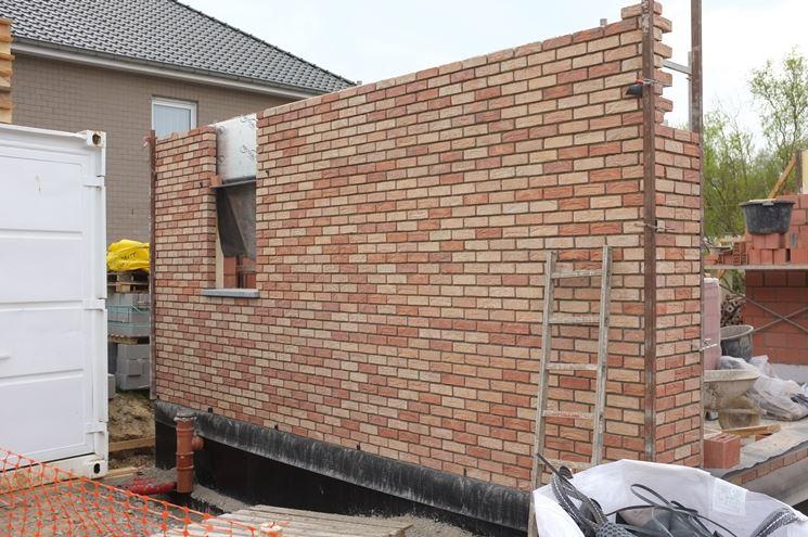 muro in mattoni