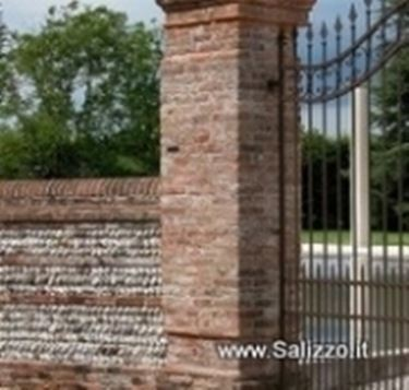Muri di cinta muratura caratteristiche dei muri di cinta for Recinzioni in tufo