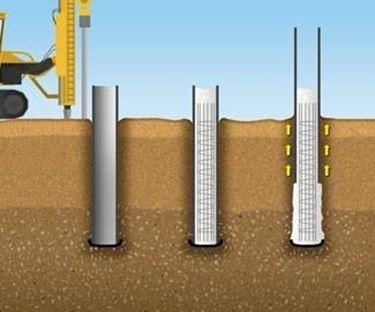 pali di fondazione