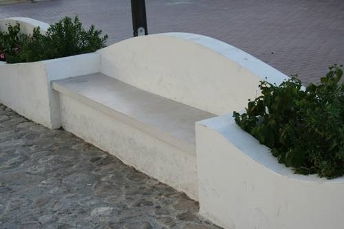 Panche In Muratura Per Esterni.Panchina In Muratura Muratura