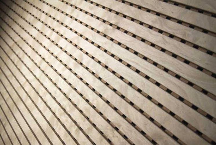 Pannelli fonoassorbenti legno per interni - Pannelli decorativi fonoassorbenti ...