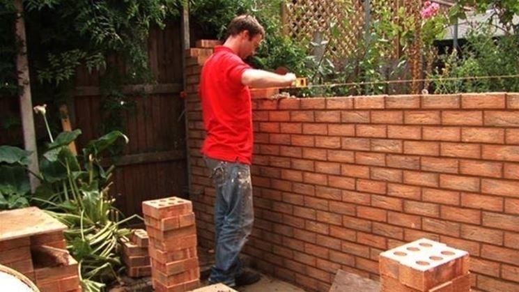 costruire parete
