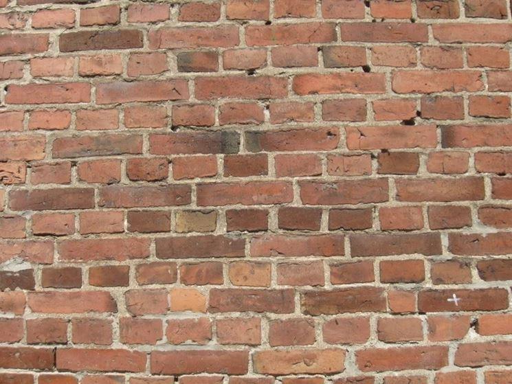 parete in mattoni