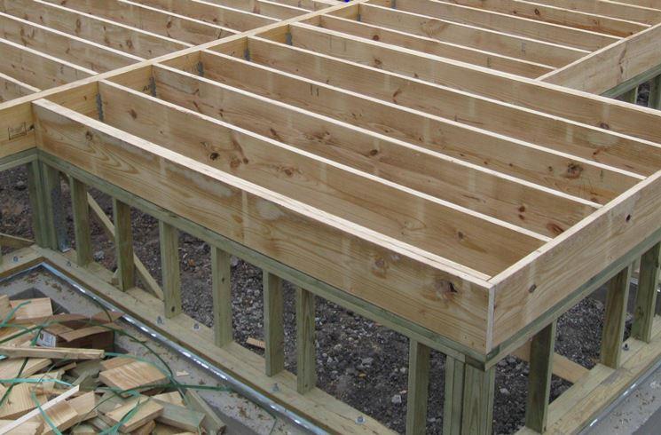 costruire solaio in legno