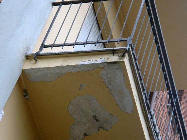 ripristinare un balcone danneggiato