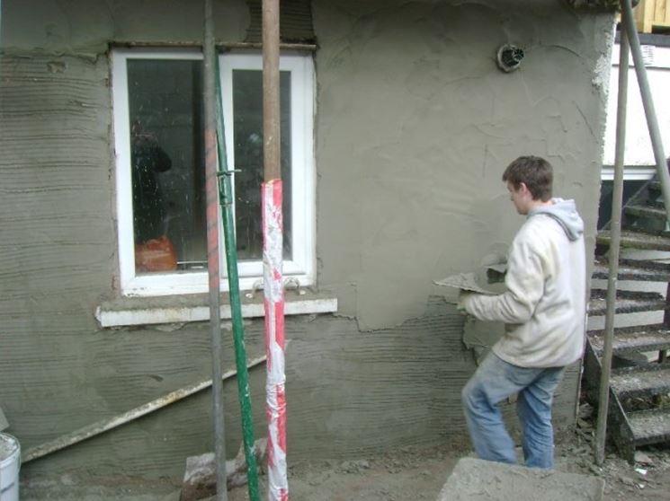 Rifinire i muri esterni
